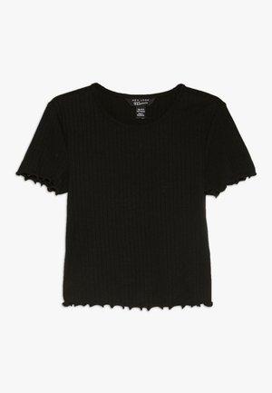 LETTUCE BABY TEE - T-shirt - bas - black
