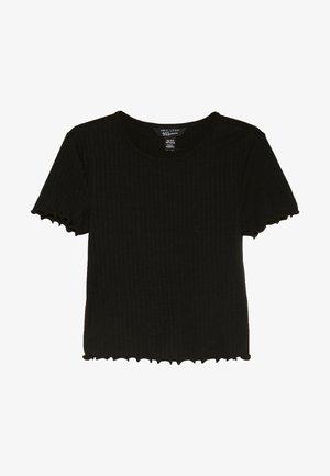 LETTUCE BABY TEE - Basic T-shirt - black