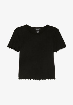 LETTUCE BABY TEE - T-shirt basique - black