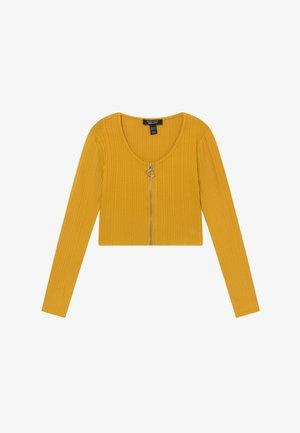 ZIP - Strikjakke /Cardigans - yellow