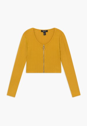 ZIP - Cardigan - yellow