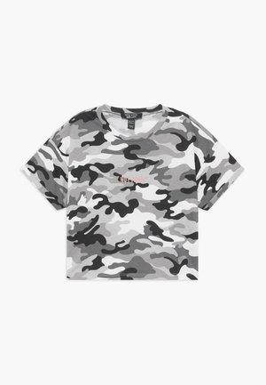 I DO WHAT I WANT - T-shirt imprimé - grey