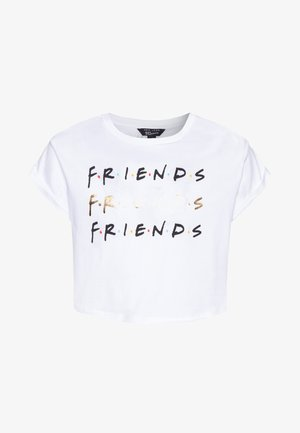 FRIENDS LOGO TEE - Print T-shirt - white