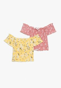 New Look 915 Generation - SHIRRED BARDOT 2 PACK  - T-shirts med print - multicoloured - 1