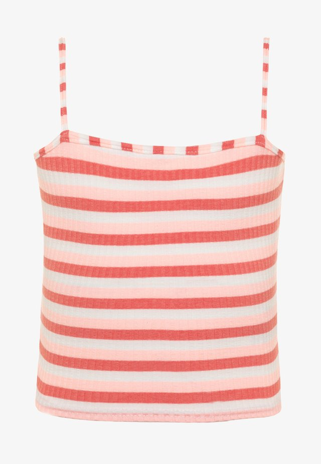 STEVEN SQUARE NECK - Top - pink