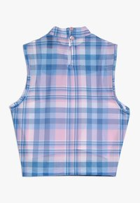 New Look 915 Generation - CHECK NECK VEST - Topper - pink - 1