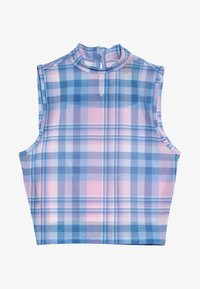 New Look 915 Generation - CHECK NECK VEST - Topper - pink - 3