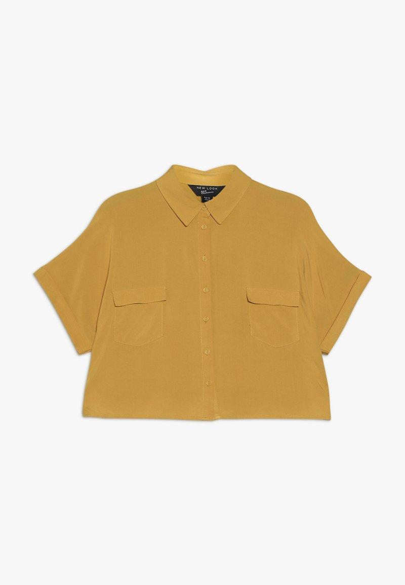 New Look 915 Generation - MILITARY BOXY  - Camisa - yellow