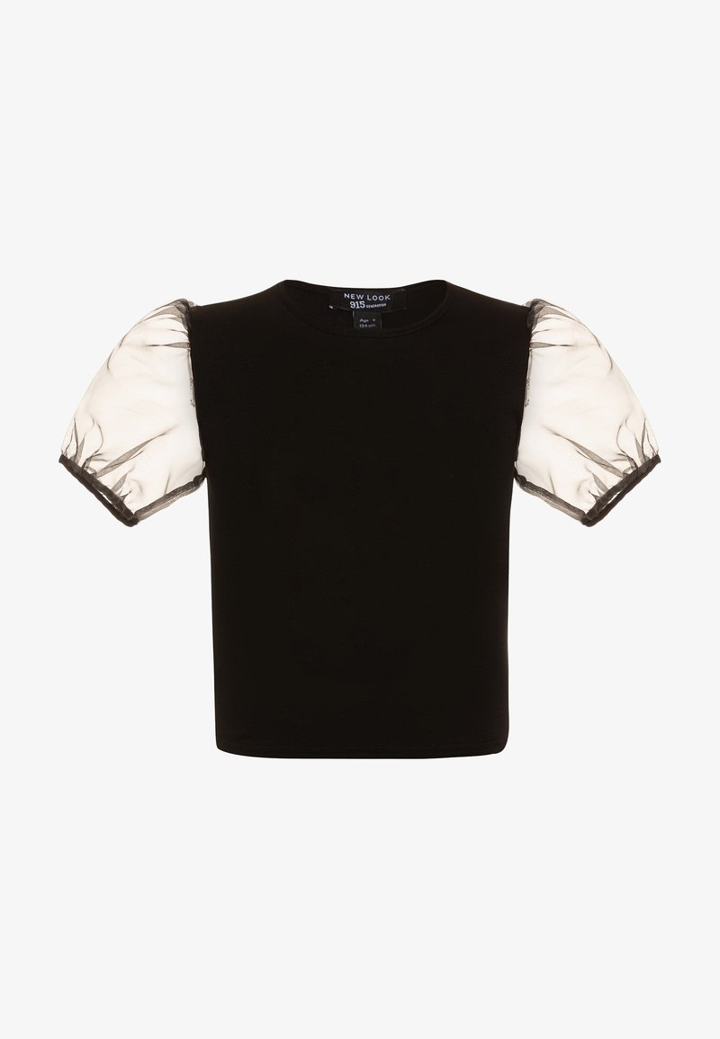 New Look 915 Generation - CREW PUFF - Triko spotiskem - black