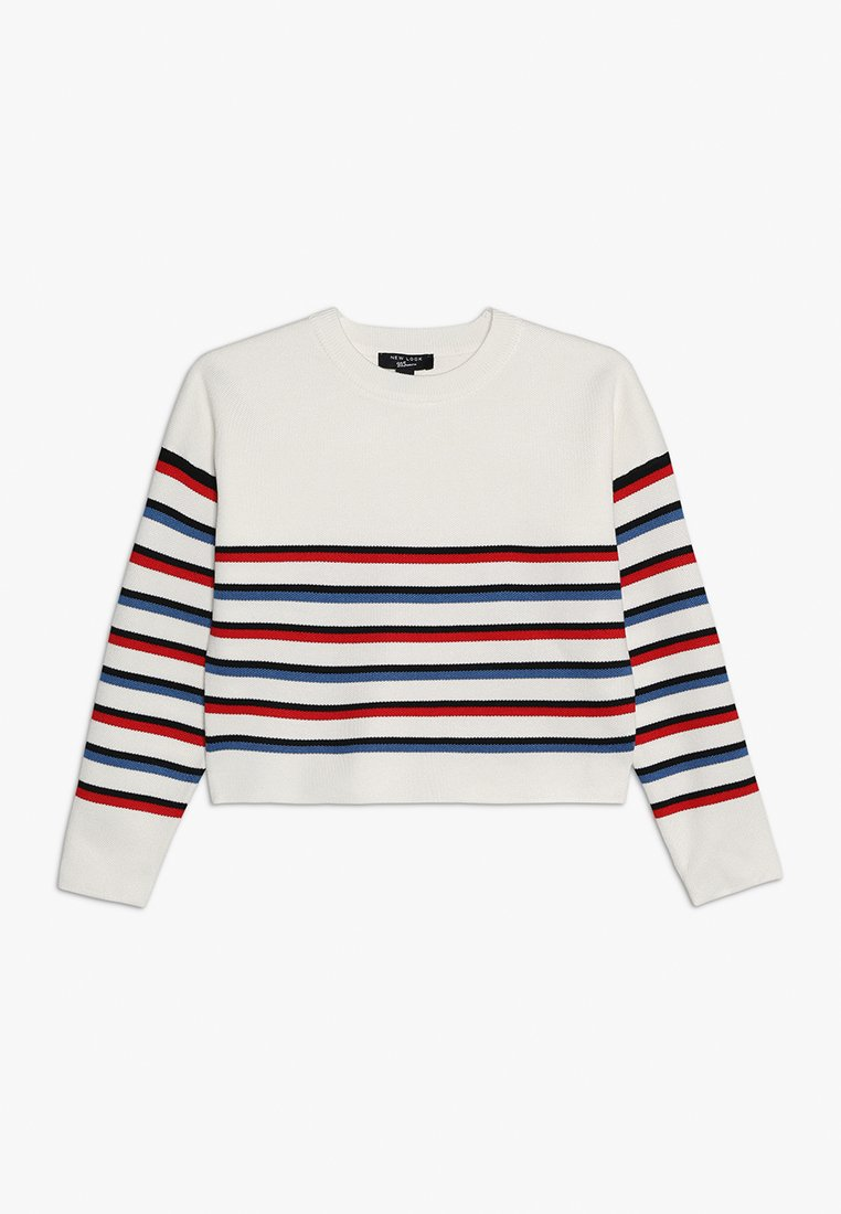 New Look 915 Generation - MILANO STRIPE - Strickpullover - cream pattern