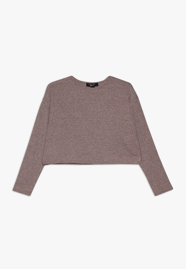 BOXY JUMPER  - Pullover - mid pink