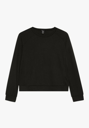 CREW NECK JUMPER - Sweter - black