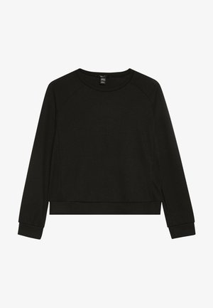 CREW NECK JUMPER - Maglione - black