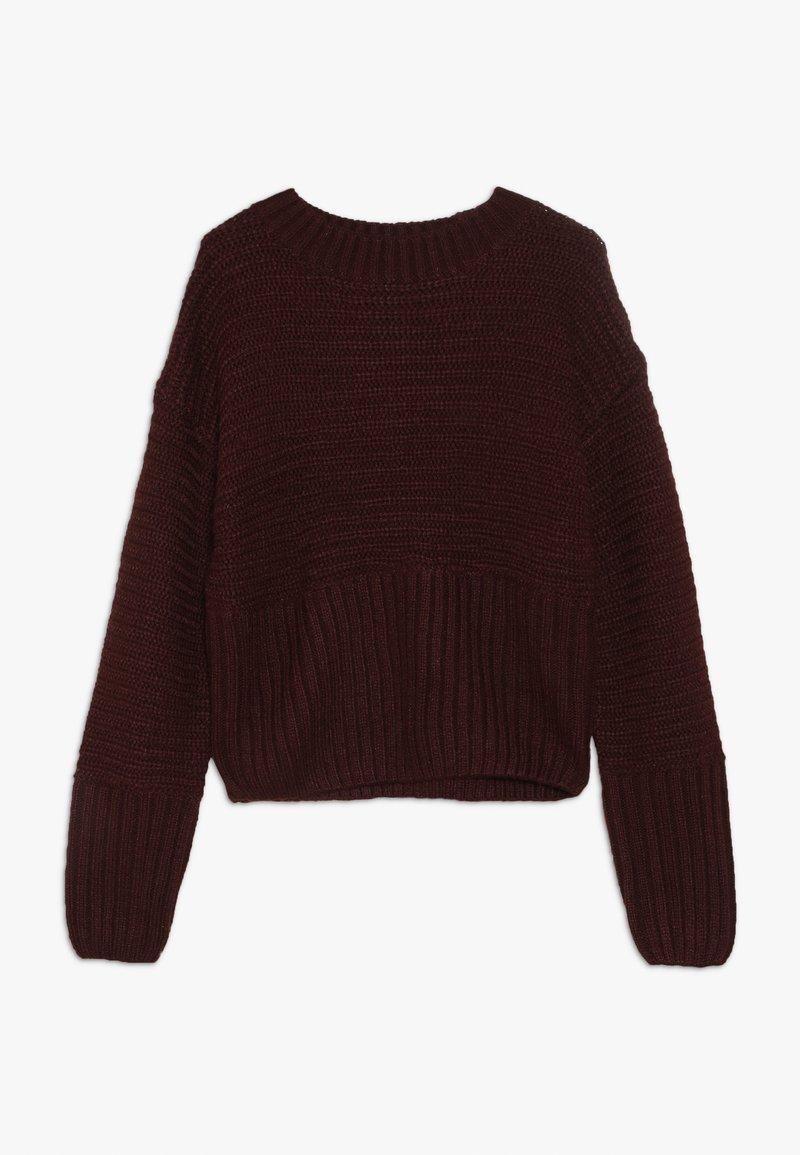 New Look 915 Generation - Sweter - bordeaux