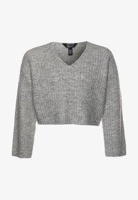 New Look 915 Generation - FRONT CROP - Jersey de punto - mid grey - 0