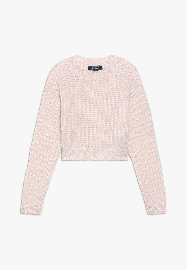 JUMPER - Stickad tröja - pink