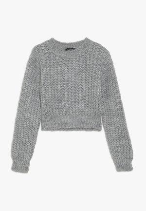 JUMPER - Stickad tröja - mid grey