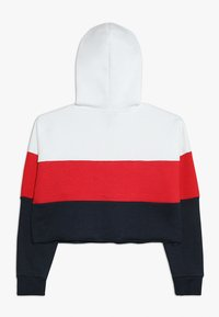 New Look 915 Generation - COLOURBLOCK HOODY - Hoodie - red - 1