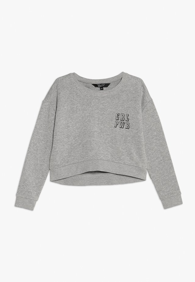 POCKET LOGO HOODY  - Sweatshirt - dark grey
