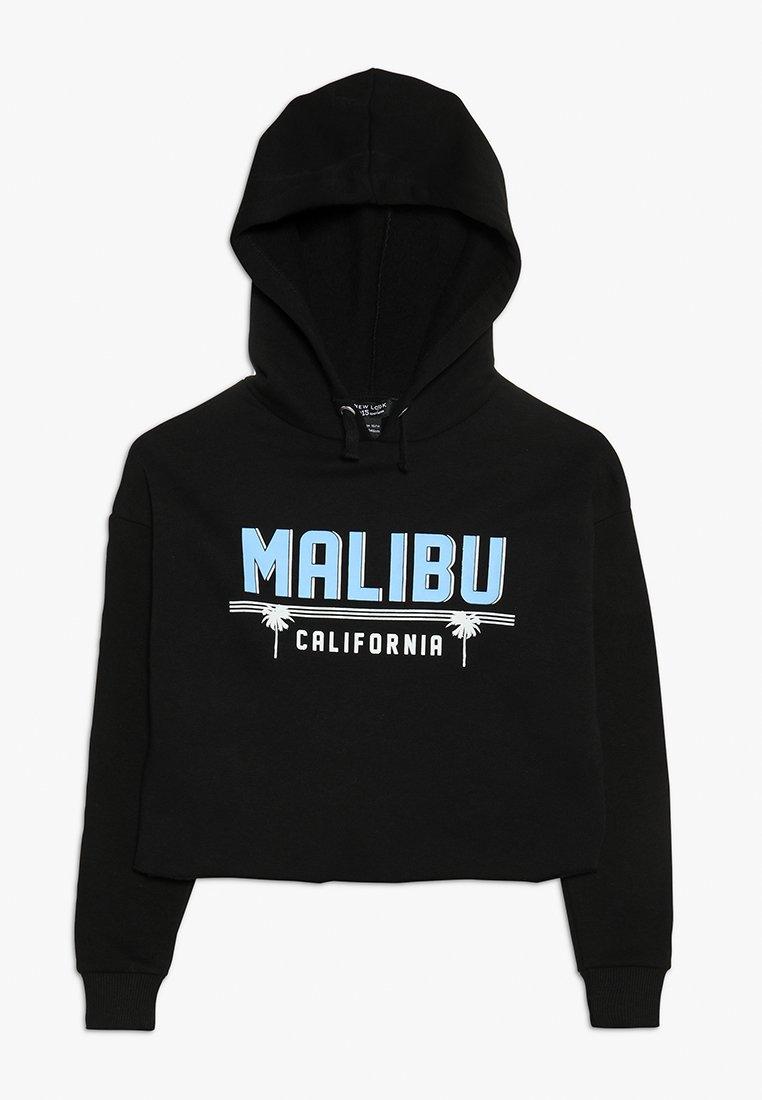 New Look 915 Generation - MALIBU LOGO HOODIE - Felpa con cappuccio - black