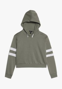 New Look 915 Generation - STRIPE SLEEVE HOODY - Hoodie - green - 0