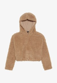 New Look 915 Generation - TEDDY CROP HOODY - Fleece trui - camel - 2