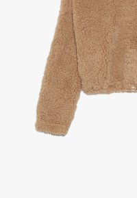 New Look 915 Generation - TEDDY CROP HOODY - Fleece trui - camel - 3