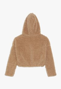 New Look 915 Generation - TEDDY CROP HOODY - Fleece trui - camel - 1
