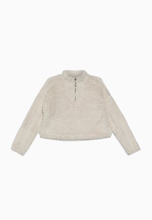 HALF ZIP - Sweater - white