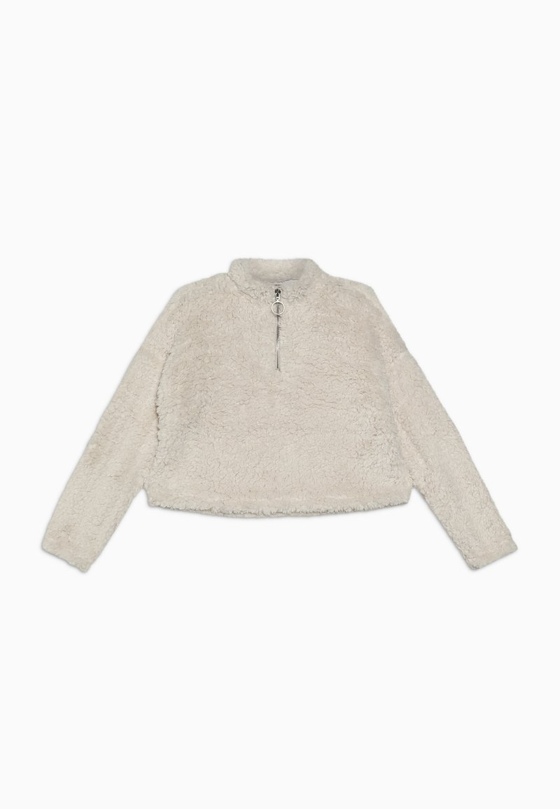 New Look 915 Generation - HALF ZIP - Mikina - white