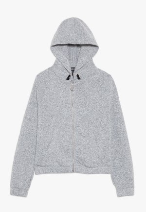 ZIP HOODY  - Zip-up hoodie - mid grey
