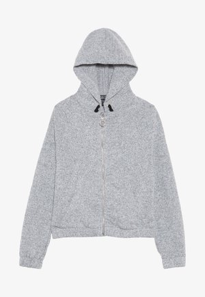 ZIP HOODY  - veste en sweat zippée - mid grey