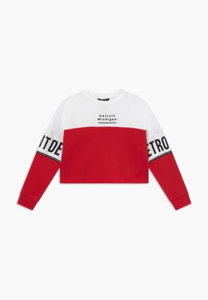 DETROIT COLOURBLOCK - Sweatshirt - red