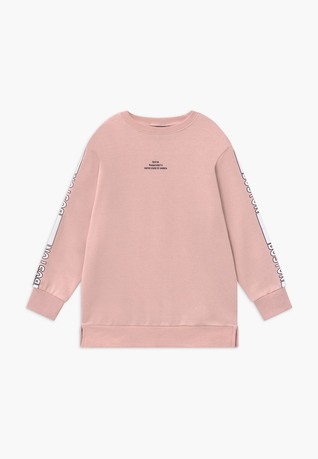 LOGO STRIPE SLEEVE - Sweater - nude