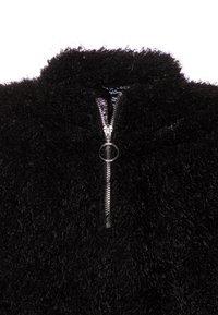 New Look 915 Generation - FLUFFY HALF ZIP - Mikina - black - 2