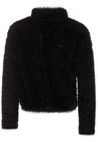 New Look 915 Generation - FLUFFY HALF ZIP - Mikina - black - 1