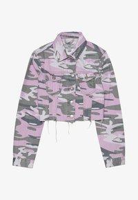New Look 915 Generation - CAMO JACKET - Cowboyjakker - purple - 2