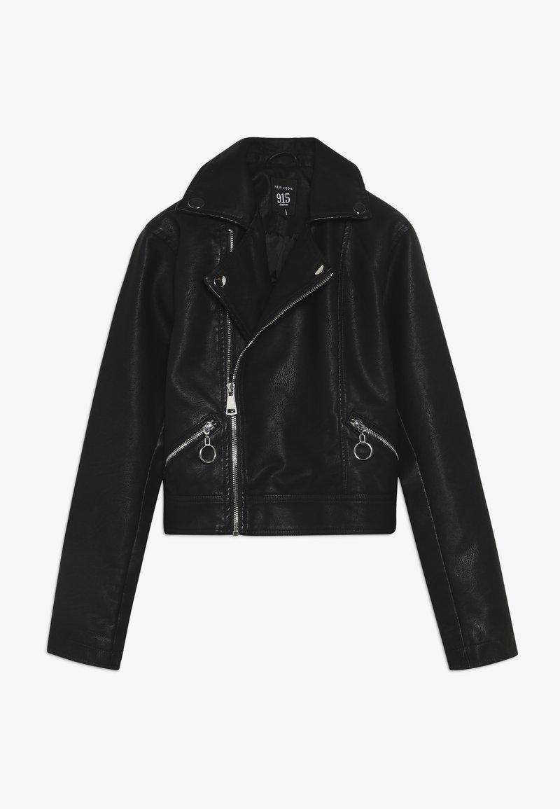 New Look 915 Generation - JACKET - Kurtka ze skóry ekologicznej - black
