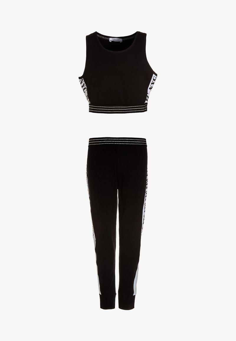 New Look 915 Generation - COL BLOCK BRALET SET - Trainingsbroek - black