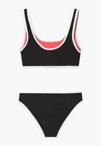 New Look 915 Generation - COLOUR BLOCK SET - Bikini - black/red - 1