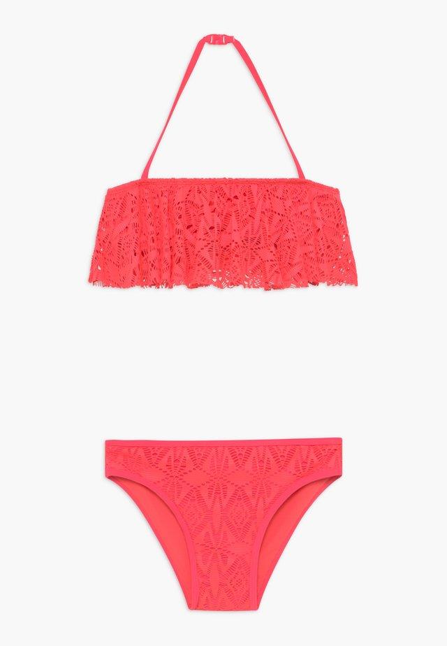 CROP SET - Bikini - pink