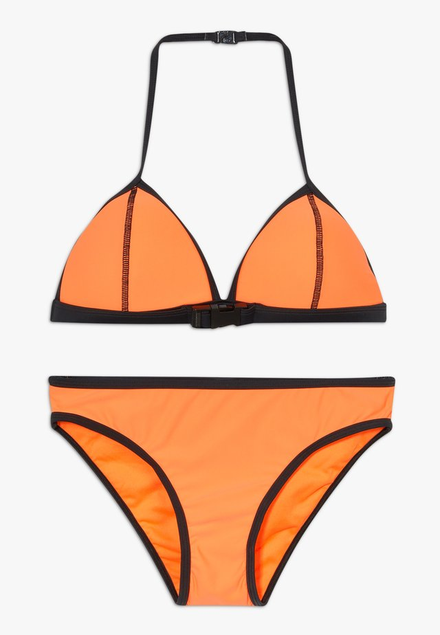 BUCKLE SET - Bikini - orange