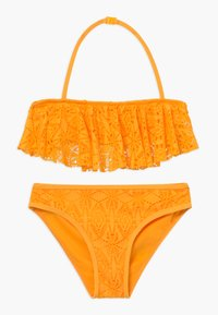 New Look 915 Generation - LACE FRILL CROP SET - Bikini - yellow - 0