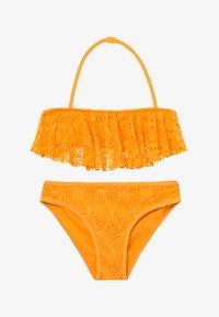 New Look 915 Generation - LACE FRILL CROP SET - Bikini - yellow - 2