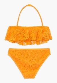 New Look 915 Generation - LACE FRILL CROP SET - Bikini - yellow - 1