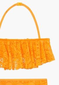 New Look 915 Generation - LACE FRILL CROP SET - Bikini - yellow - 3