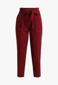 New Look Petite - MILLAR TROUSER - Kangashousut - burgundy - 4