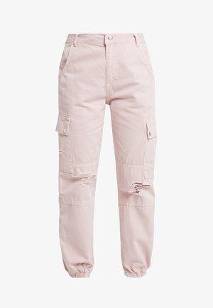 MALIBU DESTROYED - Trousers - light pink