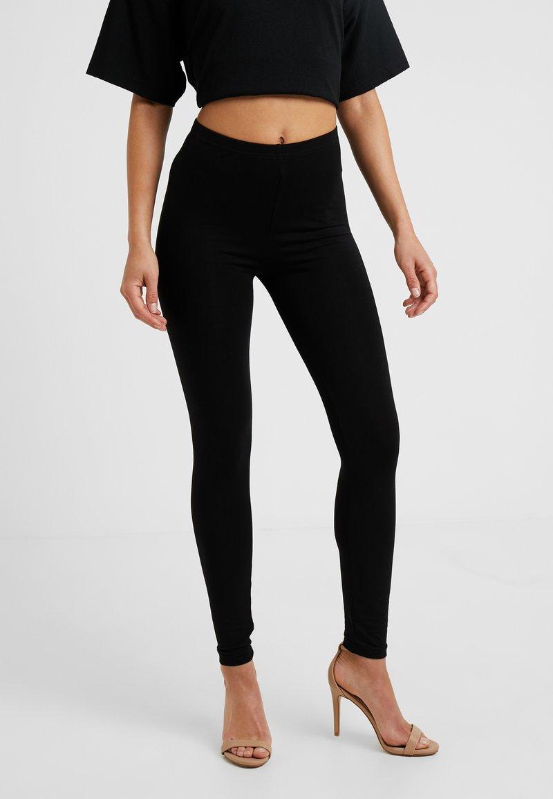 New Look Petite - 2 PACK - Leggings - black