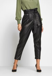 New Look Petite - TROUSER - Pantaloni - black - 0